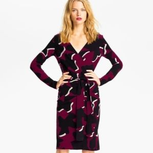 Diane von Furstenberg Richley Dove Bloom Dress